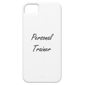 Personal Trainer Artistic Job Design iPhone 5 Covers