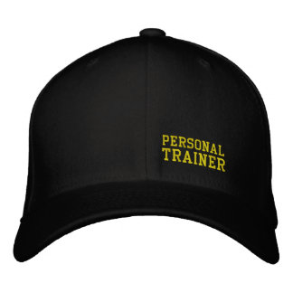 PERSONAL TRAINER BASEBALL CAP