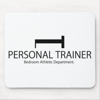 Personal Trainer Bedroom Athletic Department Mouse Pad