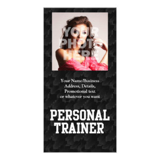 Personal Trainer Black Varsity Card