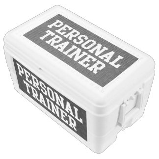 Personal Trainer Black Varsity Cooler