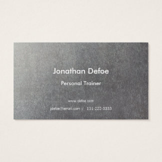 Personal Trainer Blue Business Card
