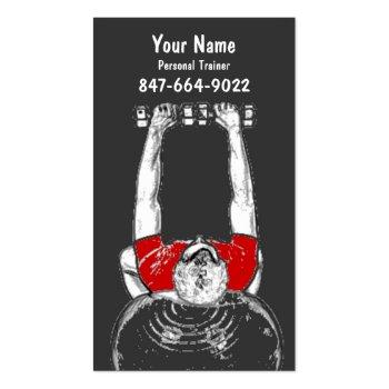 Personal Trainer profilecard