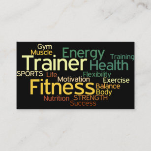 Personal trainer business cards zazzle personal trainer business card colourmoves