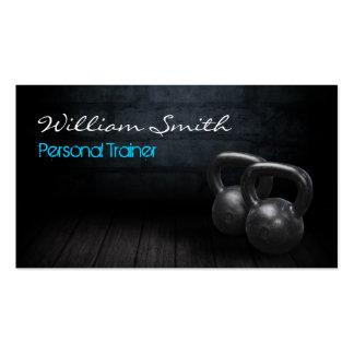 Personal Trainer Business card Plantillas De Tarjetas Personales