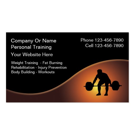 4 000 Personal Trainer Business Cards and Personal