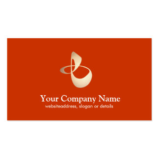 Personal Trainer Business Orange Card