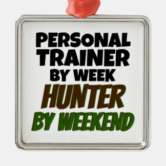 Personal Trainer by Week Hunter by Weekend Christmas Tree Ornament