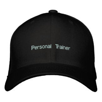 Personal Trainer Cap Embroidered Baseball Cap