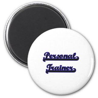 Personal Trainer Classic Job Design 2 Inch Round Magnet