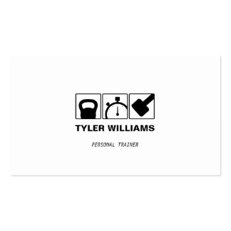 Personal Trainer Cross Training Fitness Business Card