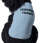 Personal Trainer Dog Shirt