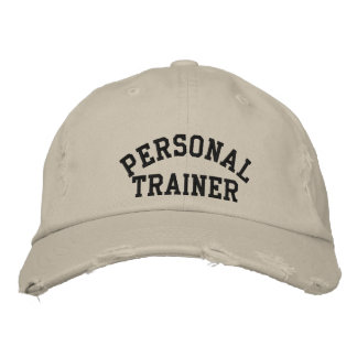 Personal Trainer Embroidered Baseball Hat