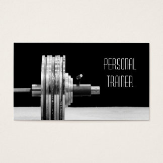 Personal Trainer, Exercise Business Card