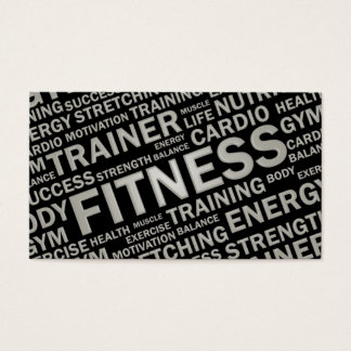Fitness Business Cards, 1500+ Fitness Business Card Templates