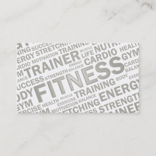 Personal trainer business cards zazzle personal trainer fitness business card colourmoves