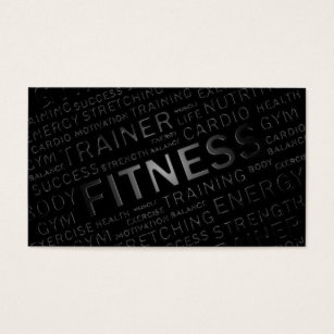 Fitness business cards 1500 fitness business card templates personal trainer fitness business card accmission Image collections
