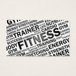 "Personal Trainer &amp; Fitness Business Card<br><div class=""desc"">Modern business card design for fitness companies or anyone working as a personal trainer. You can find other promotional products matching this card in my store. If you have any questions or requests please contact me.</div>"