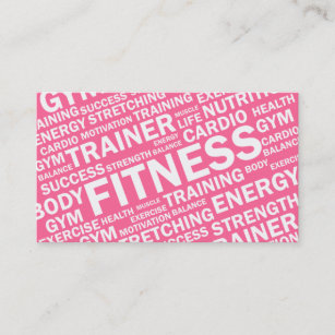 Fitness business cards 1500 fitness business card templates personal trainer fitness business card colourmoves
