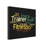 Personal Trainer/Fitness Center Canvas Canvas Print