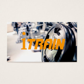 Personal Trainer Fitness Sport Business Card