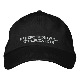 Personal Trainer Hat Embroidered Baseball Caps