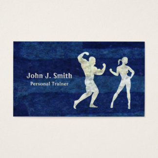 Personal Trainer Human Bodies Business Card