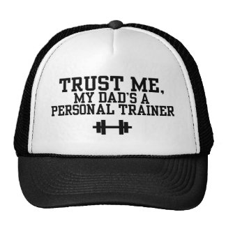 Personal Trainer Mesh Hat