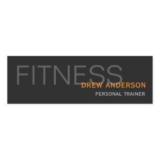 Browse the Fitness Business Cards Collection and personalize by color, design, or style.