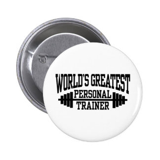 Personal Trainer Pinback Buttons