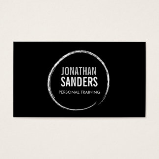 PERSONAL TRAINER SKETCH LOGO II Business Card