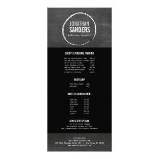 PERSONAL TRAINER SKETCH LOGO Rack Card