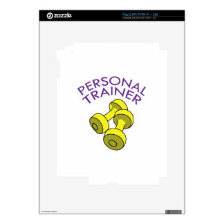 Personal Trainer iPad 2 Decal