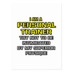 Personal Trainer...Superior Physique Postcard