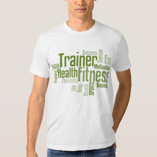 Personal trainer tshirt zazzle for Custom personal trainer shirts