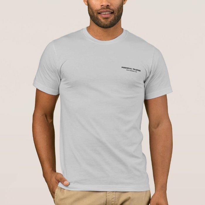 Personal Trainer Uniform T Shirt Zazzle