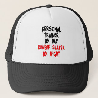 Personal Trainer Zombie Slayer Trucker Hat