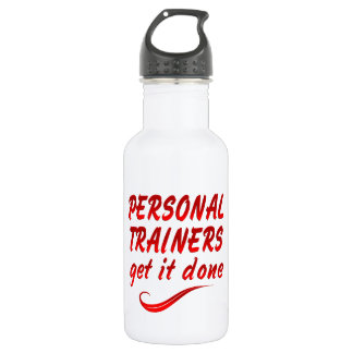Personal Trainers Get it Done Water Bottle