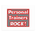 Personal Trainers Rock! Post Card