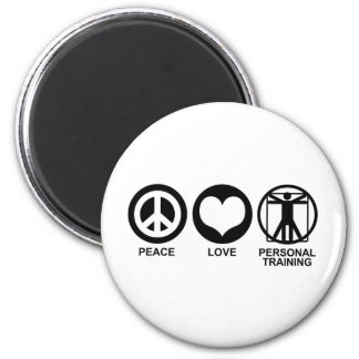 Personal Training 2 Inch Round Magnet