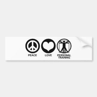 Personal Training Bumper Sticker