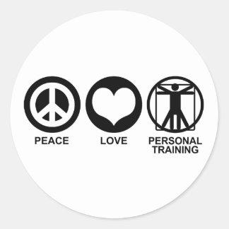 Personal Training Classic Round Sticker