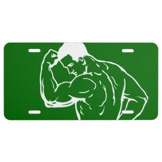 Personal Training License Plate
