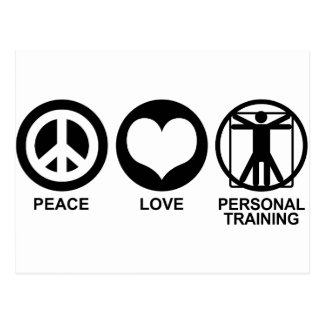 Personal Training Postcard