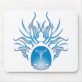Personal Training Skull Mouse Pad
