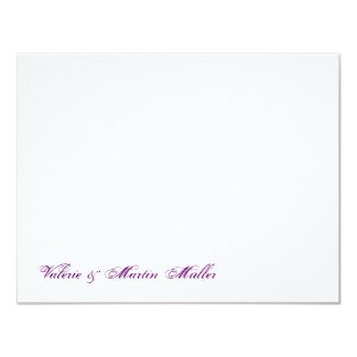 Personal writing paper or thank saying wedding card