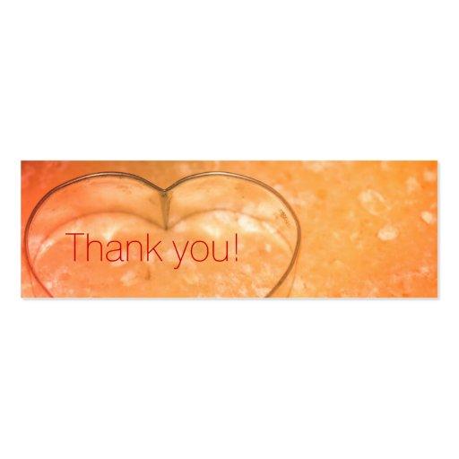 Personales adaptables le agradecen tarjeta tarjeta de visita