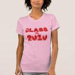 PERSONALICE 2010 regalos de las graduaciones Camiseta