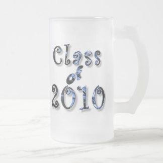 PERSONALICE 2010 regalos de las graduaciones Taza De Cristal