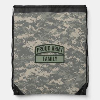 Personalice a la familia Camo del ejército Mochila